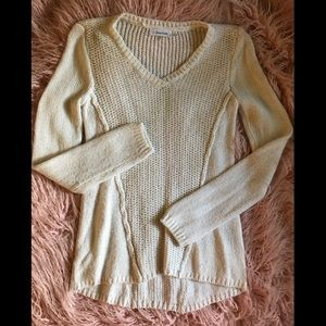 Calvin Klein off white knitted sweater